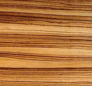 D taille technique zebrawood zebrano massif brillant du for Meuble zebrano
