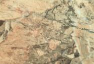 Détaille technique: BRECCIA AURORA, brèche naturelle brillante italienne