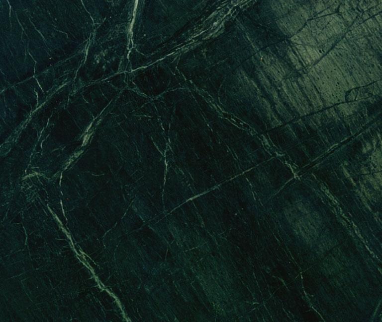 Marbre vert fonce