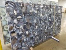 Fourniture dalles brillantes 2 cm en pierre semi précieuse naturelle AGATA WILD AG-WD16. Détail image photos