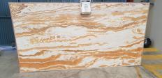 Fourniture dalles brillantes 2 cm en onyx naturel Alabaster alabaster. Détail image photos