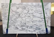 Fourniture dalles polies 2 cm en marbre naturel ARABESCATO CERVAIOLE GL 1023. Détail image photos