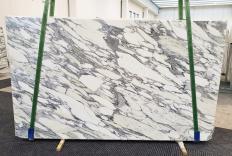 Fourniture dalles brillantes 2 cm en marbre naturel ARABESCATO CORCHIA 1237. Détail image photos