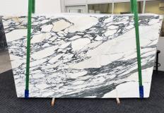 Fourniture dalles brillantes 2 cm en marbre naturel ARABESCATO CORCHIA 1323. Détail image photos