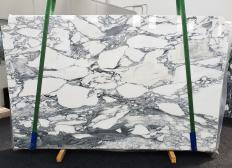 Fourniture dalles brillantes 2 cm en marbre naturel ARABESCATO CORCHIA 1433. Détail image photos