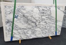 Fourniture dalles brillantes 2 cm en marbre naturel ARABESCATO CORCHIA 1420. Détail image photos