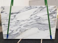 Fourniture dalles brillantes 2 cm en marbre naturel ARABESCATO CORCHIA GL 1139. Détail image photos