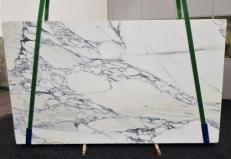 Fourniture dalles brillantes 2 cm en marbre naturel ARABESCATO CORCHIA GL1129. Détail image photos