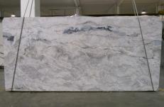 Fourniture dalles brillantes 3 cm en Dolomie naturelle ARTIC WHITE 1236G. Détail image photos