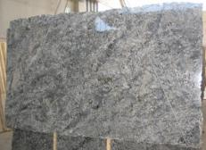 Fourniture dalles brillantes 2 cm en granit naturel AZUL ARAN C-2743. Détail image photos