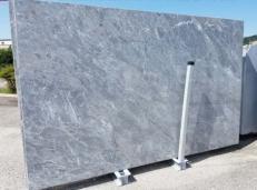 Fourniture dalles polies 2 cm en marbre naturel BARDIGLIO NUVOLATO CHIARO AA T0043. Détail image photos