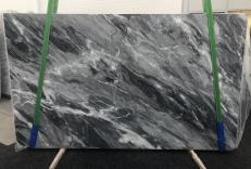 Fourniture dalles brillantes 2 cm en marbre naturel BARDIGLIO NUVOLATO SCURO 1172. Détail image photos