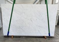 Fourniture dalles brillantes 3 cm en marbre naturel BIANCO CARRARA C 1441. Détail image photos