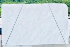 Fourniture dalles brutes 2 cm en marbre naturel BIANCO CARRARA C D210930. Détail image photos