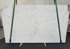 Fourniture dalles polies 2 cm en marbre naturel BIANCO GIOIA EXTRA 1266. Détail image photos