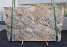 Fourniture dalles brillantes 2 cm en brèche naturelle BRECCIA AURORA GL 1057. Détail image photos