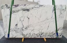 Fourniture dalles brillantes 2 cm en marbre naturel BRECCIA CAPRAIA 1251. Détail image photos