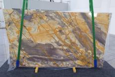 Fourniture dalles brillantes 2 cm en marbre naturel BRECCIA ETRUSCA 1199. Détail image photos