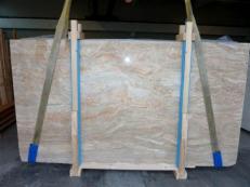 Fourniture dalles brillantes 2 cm en brèche naturelle BRECCIA ONICIATA SC_982. Détail image photos