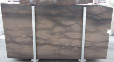 Fourniture dalles polies 2 cm en calcaire naturel CAESER BROWN 0273M. Détail image photos
