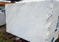 Fourniture blocs sciés 130 cm en marbre naturel CALACATTA ARNI Z0175. Détail image photos