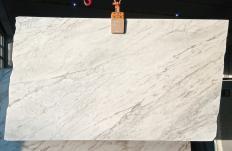 Fourniture dalles brillantes 2 cm en marbre naturel CALACATTA ARNI Z0175. Détail image photos