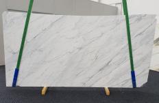Fourniture dalles polies 2 cm en marbre naturel CALACATTA CARRARA 1313. Détail image photos
