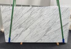 Fourniture dalles polies 3 cm en marbre naturel CALACATTA CARRARA #1370. Détail image photos