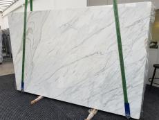 Fourniture dalles brillantes 2 cm en marbre naturel CALACATTA CREMO 1403. Détail image photos
