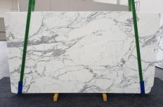 Fourniture dalles brillantes 2 cm en marbre naturel CALACATTA EXTRA 1255. Détail image photos