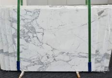 Fourniture dalles brillantes 2 cm en marbre naturel CALACATTA EXTRA 1373. Détail image photos