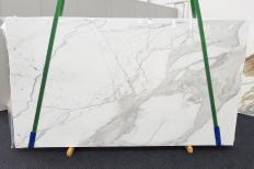 Fourniture dalles brillantes 2 cm en marbre naturel CALACATTA EXTRA 1377. Détail image photos