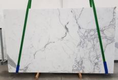 Fourniture dalles polies 2 cm en marbre naturel CALACATTA EXTRA 1145. Détail image photos