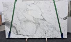 Fourniture dalles brillantes 3 cm en marbre naturel CALACATTA FANTASIA GL 998. Détail image photos