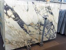 Fourniture dalles brillantes 2 cm en marbre naturel CALACATTA FIORITO Z0052. Détail image photos