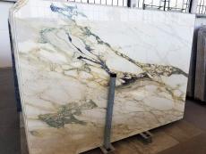 Fourniture dalles brillantes 2 cm en marbre naturel CALACATTA FIORITO U0433. Détail image photos
