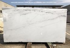 Fourniture dalles brillantes 2 cm en Dolomie naturelle CALACATTA LINCOLN 1408M. Détail image photos