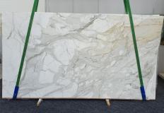 Fourniture dalles brillantes 2 cm en marbre naturel CALACATTA MACCHIA ANTICA 1389. Détail image photos