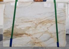 Fourniture dalles brillantes 2 cm en marbre naturel CALACATTA MACCHIAVECCHIA 1231. Détail image photos