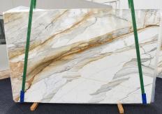 Fourniture dalles brillantes 2 cm en marbre naturel CALACATTA MACCHIAVECCHIA 1354. Détail image photos