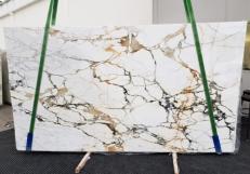 Fourniture dalles brillantes 2 cm en marbre naturel CALACATTA MACCHIAVECCHIA GL 1131. Détail image photos