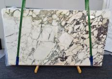 Fourniture dalles brillantes 2 cm en marbre naturel CALACATTA MONET 1302. Détail image photos