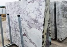 Fourniture dalles sciées 2 cm en marbre naturel CALACATTA VAGLI ROSATO Z0386. Détail image photos