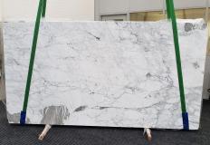 Fourniture dalles brillantes 2 cm en marbre naturel CALACATTA VAGLI VENA FINA #1374. Détail image photos