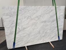 Fourniture dalles brillantes 2 cm en marbre naturel CALACATTA VAGLI VENA FINA GL 1128. Détail image photos