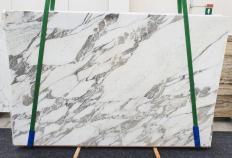 Fourniture dalles brillantes 3 cm en marbre naturel CALACATTA VAGLI 1396. Détail image photos