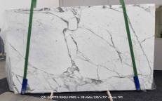 Fourniture dalles brillantes 2 cm en marbre naturel CALACATTA VAGLI SG 982. Détail image photos