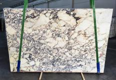 Fourniture dalles brillantes 2 cm en marbre naturel CALACATTA VIOLA 1291. Détail image photos