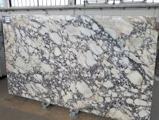 Fourniture dalles brillantes 2 cm en marbre naturel CALACATTA VIOLA T0400. Détail image photos