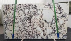 Fourniture dalles brillantes 2 cm en marbre naturel CALACATTA VIOLA #1106. Détail image photos